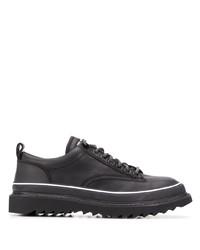 Chaussures derby en cuir noires Diesel