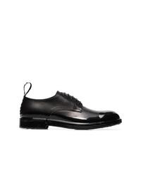 Chaussures derby en cuir noires Dolce & Gabbana