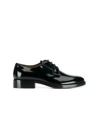 Chaussures derby en cuir noires Givenchy