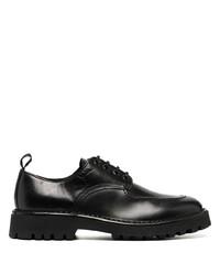 Chaussures derby en cuir noires Kenzo