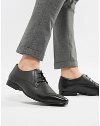 Chaussures derby en cuir noires Kg Kurt Geiger
