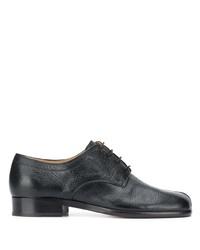 Chaussures derby en cuir noires Maison Margiela