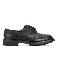 Chaussures derby en cuir noires Church's
