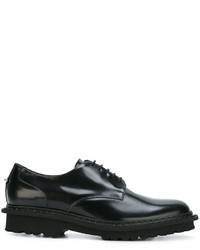 Chaussures derby en cuir noires Neil Barrett