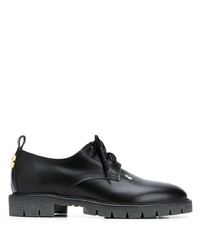 Chaussures derby en cuir noires Off-White