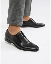 Chaussures derby en cuir noires Office