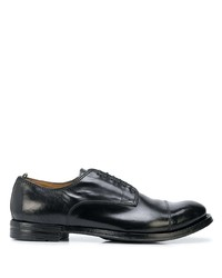 Chaussures derby en cuir noires Officine Creative