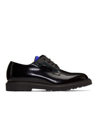 Chaussures derby en cuir noires Paul Smith