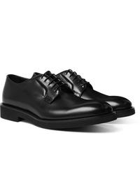 Chaussures derby en cuir noires Paul Smith