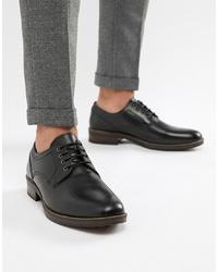 Chaussures derby en cuir noires Red Tape