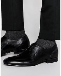 Chaussures derby en cuir noires Ted Baker