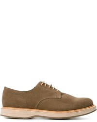 Chaussures derby en cuir olive Church's