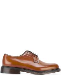 Chaussures derby en cuir tabac Church's