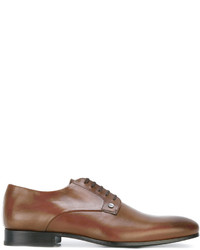 Chaussures derby en cuir tabac Kenzo