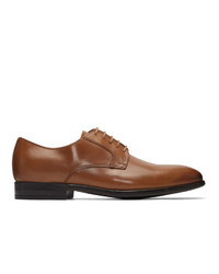 Chaussures derby en cuir tabac Ps By Paul Smith