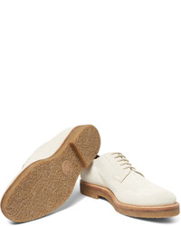 Chaussures derby en daim beiges Dries Van Noten, €593   MR