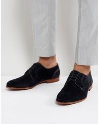 Chaussures derby en daim bleues Ted Baker