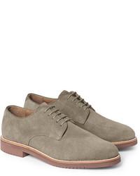Chaussures derby en daim grises J.Crew