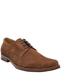 Chaussures derby en daim marron Generic Man