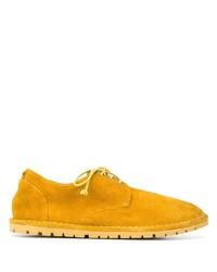 Chaussures derby en daim tabac Marsèll