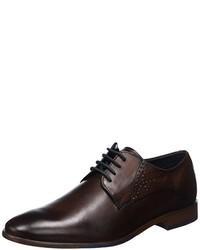 Chaussures derby marron foncé Daniel Hechter