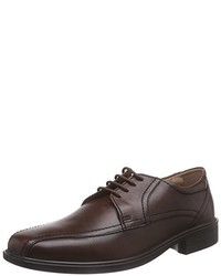 Chaussures derby marron foncé Padders