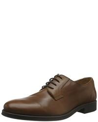 Chaussures derby marron foncé Selected