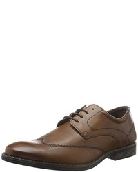 Chaussures derby marron camel active