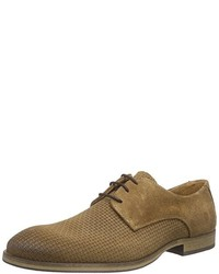 Chaussures derby marron Selected