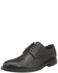 Chaussures derby noires Boss Orange