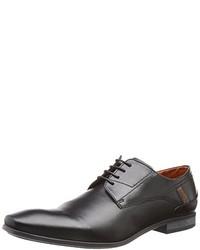 Chaussures derby noires Bugatti