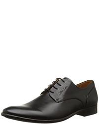 Chaussures derby noires Calvin Klein