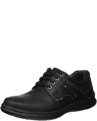 Chaussures derby noires Clarks