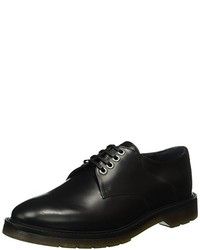 Chaussures derby noires Emporio Armani