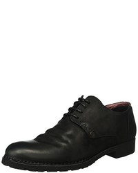 Chaussures derby noires Goldmud