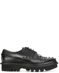 Chaussures derby noires Neil Barrett