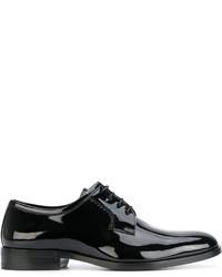 Chaussures derby noires Saint Laurent