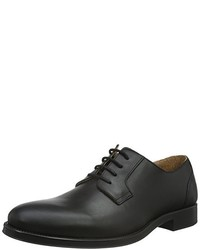 Chaussures derby noires Selected