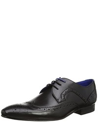 Chaussures derby noires Ted Baker