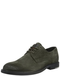 Chaussures derby olive Boss Orange