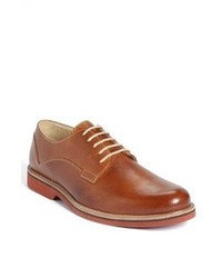 Chaussures derby tabac