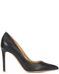 Chaussures en cuir noires Vivienne Westwood