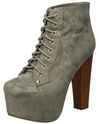 Chaussures grises Jeffrey Campbell