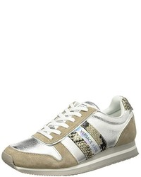 Chaussures grises Versace