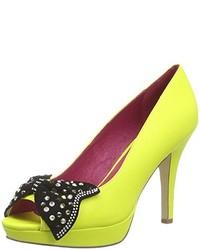 Chaussures jaunes Ladystar By Daniela Katzenberger