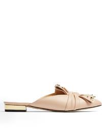 Chaussures plates marron clair original 11476459