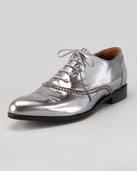 Chaussures richelieu argentees original 8534655