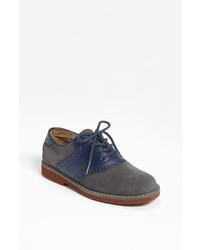 Chaussures richelieu bleues marine