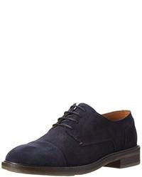 Chaussures richelieu bleues marine Tommy Hilfiger