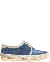 Chaussures richelieu bleues